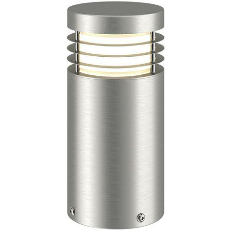 Stainless steel pillar lamp Caramia, seawater res.
