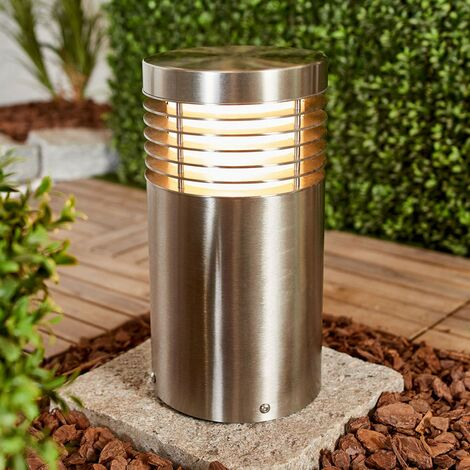 Stainless steel pillar light Tomita, seawater res.