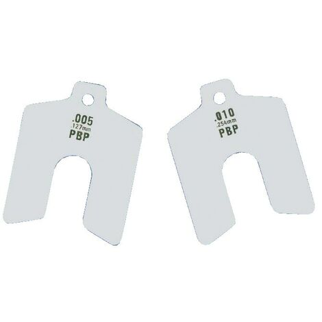 Stainless Steel Shim Packs - Metric Sizes