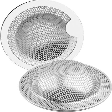 """main image of """"Stainless Steel Sink Filters A Two Piece Set (5.2CM)"""""""