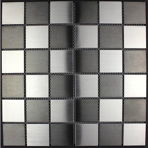 stainless steel tiles kitchen backsplash mi-duo