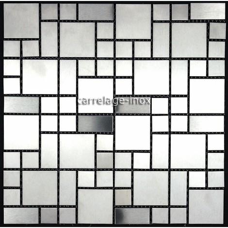 stainless steel tiles kitchen backsplash mi-las