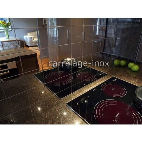 stainless steel tiles kitchen backsplash mi-mir-98