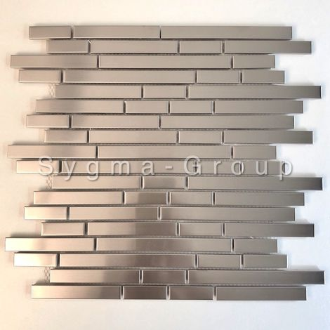 stainless steel wall tile for kitchen wall model NORKLI
