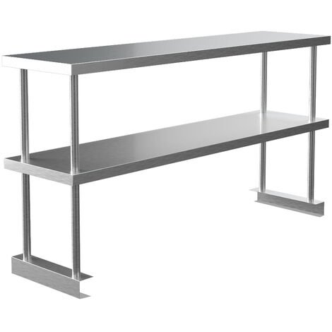 Stainless Steel Working Table 120x30x60 cm