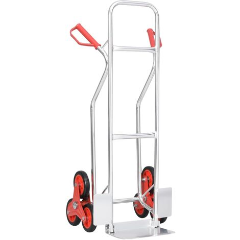 Stair Climbing Hand Truck with 6 Wheels 51x53.5x118 cm 150 kg
