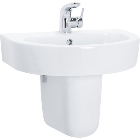 Stamford 550mm Basin & Half Height Pedestal