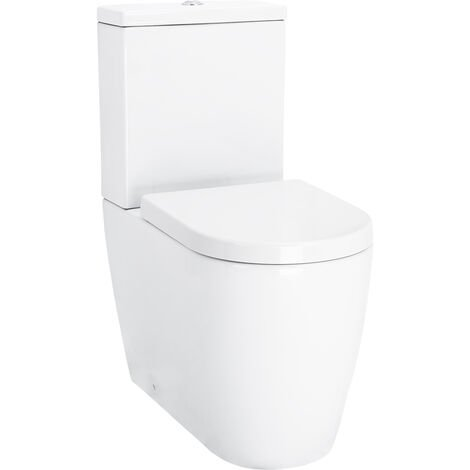 Stamford Fully Back To Wall Close Couple Toilet with Soft Close Seat