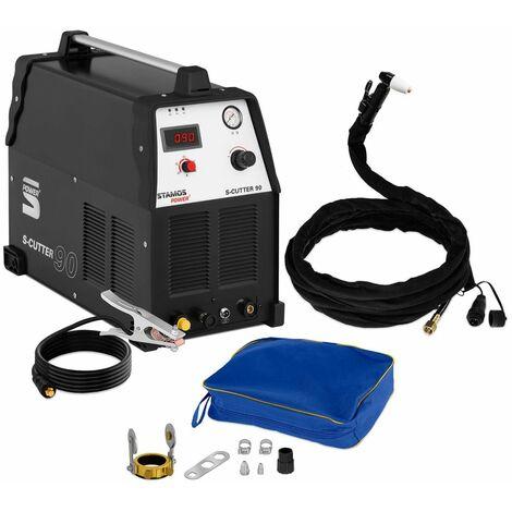Stamos Cortador Plasma Hf Trifase 380 V 20-90 Amp Tecn. Igbt-Inverter