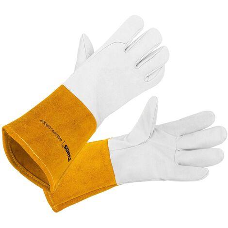 Stamos Gants De Soudure Gant Soudeur Anti-Chaleur Protection Taille 10/XL