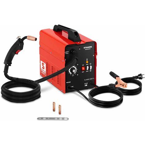 Stamos Máquina De Soldar MIG/MAG De Hilo Tubular Soldador Flux 120A/230V