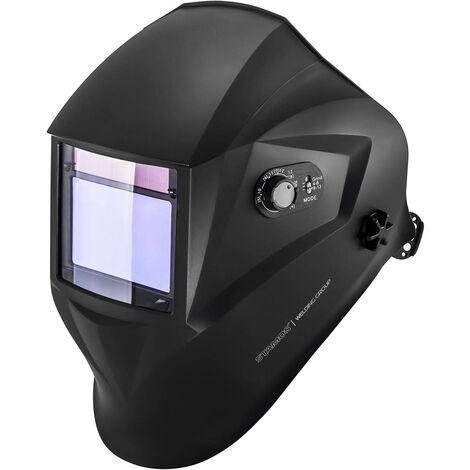 Masque Soudure Automatique Din 9-13 Soudage Assombrissement 100X65Mm Stamos