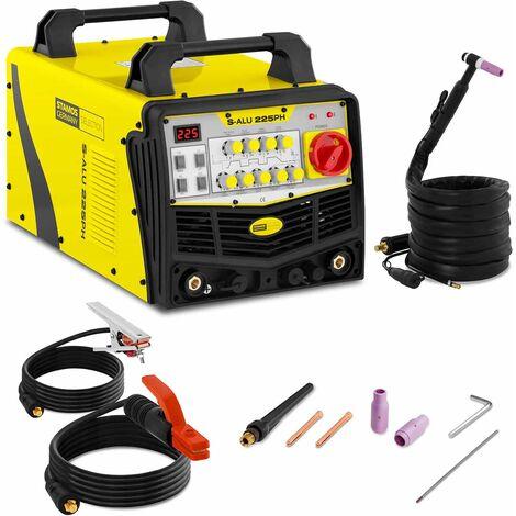 Stamos Schweißgerät WIG AC DC E-Hand Schutzgas 225A Puls2/4 TaktHF
