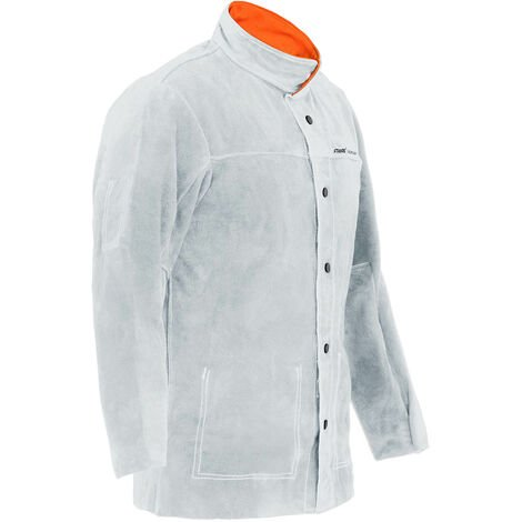 Stamos Veste De Soudeur Cuir Vêtement Soudure Taille XL
