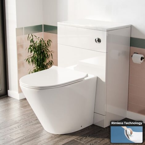 Stan Back to Wall Toilet and Concealed Cistern WC Unit