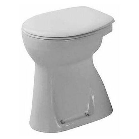 Stand Duravit WC Duraplus Sudan, hauteur 490mm, sortie verticale, blanc - 0212010000