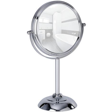 Stand Kosmetikspiegel Schminkspiegel Spiegel 10-fach Globo Bad-Accessoires