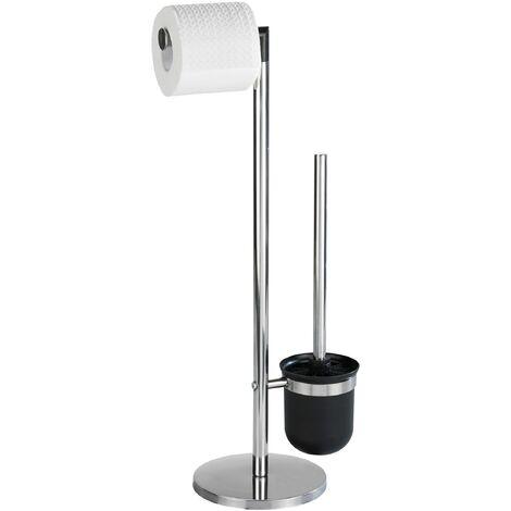 Stand Toilettenbürste WC Garnitur Klobürste Toilettenpapier Halter Parus
