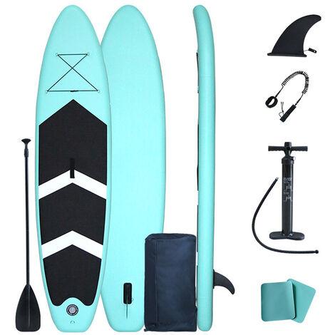 Stand Up Paddle Gonflable, Planche De Surf Legere, Avec Sac D'Accessoires Sup, Taille 3,2 M