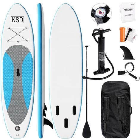 Stand up paddle gonflable Planche de surf -portable Ensemble de planches SUP gonflables