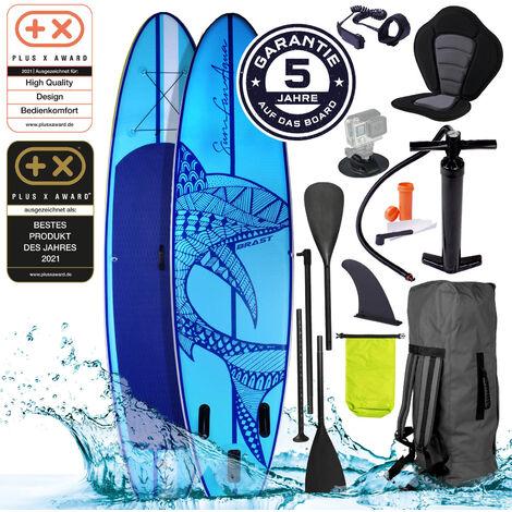 SUP Board aufblasbar SHARK 320 blue