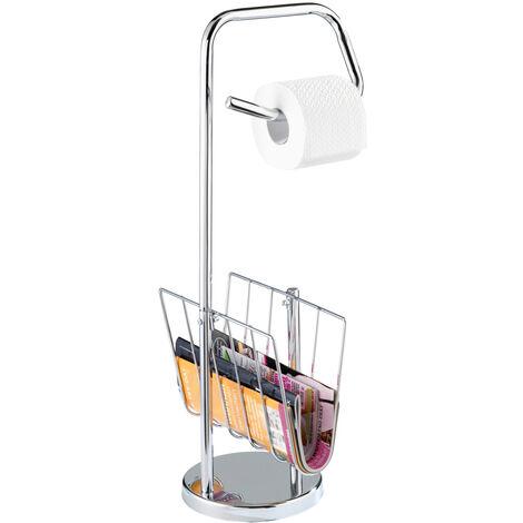 Stand WC Garnitur Klobürste Toilettenbürste Bürste Bürstenhalter Bad Chrom