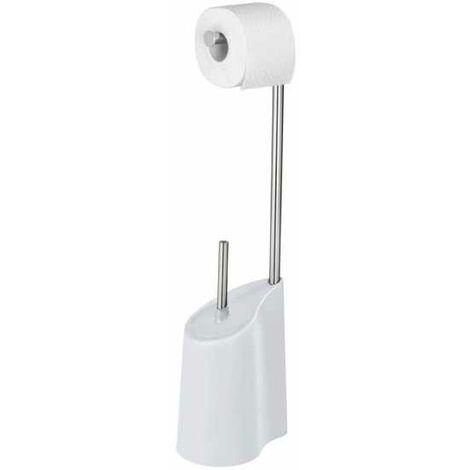 Stand WC Garnitur Klobürste Toilettenbürste Bürste Bürstenhalter Bad Harbor Weiß