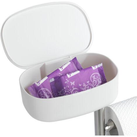 Stand WC-Garnitur mit Box Rivazza Toilettenpapier Rollenhalter Ersatz Ablage Bad