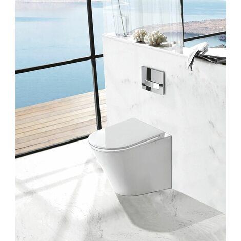 Stand-WC inkl. Soft-Close Sitz BTW-6013