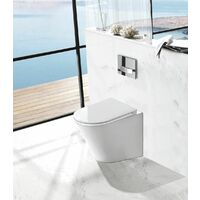 Stand-WC inkl. Soft-Close Sitz BTW-6013