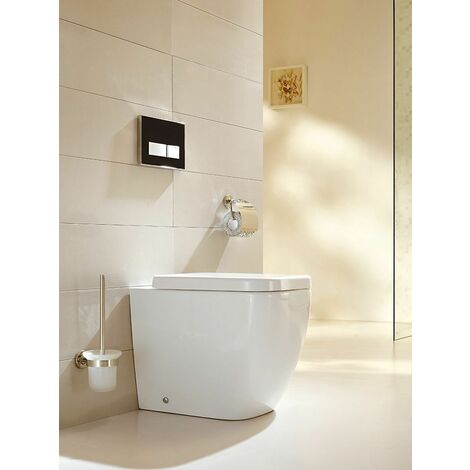 Stand-WC inkl. Soft-Close Sitz BTW-6023
