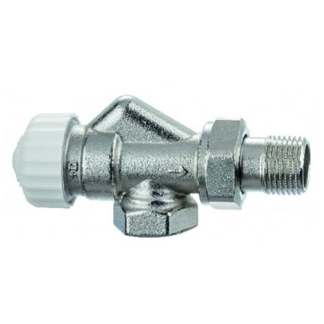 Standard thermostatic radiator valve body Calypso Exact reversed angle DN10 3/8 - IMI HYDRONIC : 3450-01.000