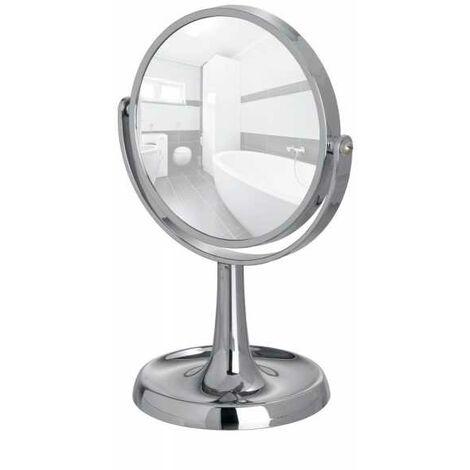 Standing Cosmetic Mirror Rosolina chrome WENKO