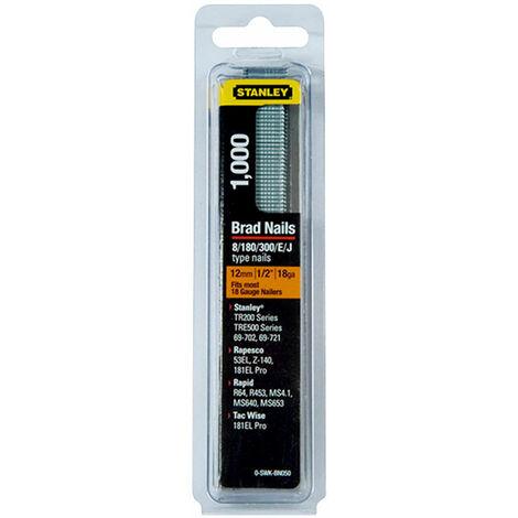 Stanley 0-SWK-BN050 SWKBN Brad Nail 12mm SWKBN050 Pack 1000