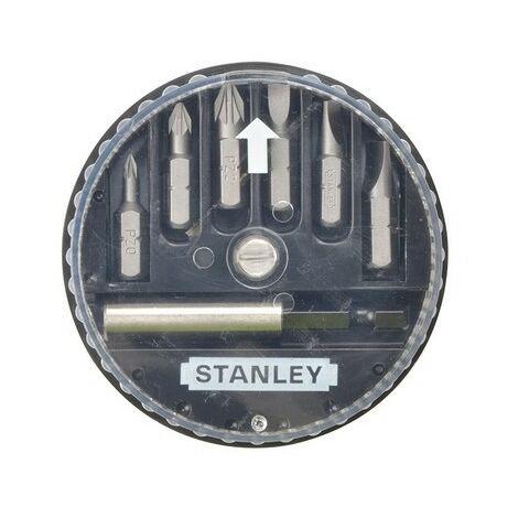 Stanley 1-68-738 Insert Bit Set Pozidriv/Slotted 7 Piece