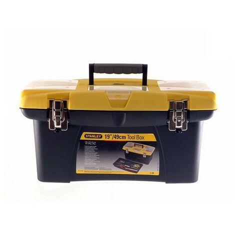 "Stanley 1-92-906 Jumbo Toolbox With Organiser 19"""