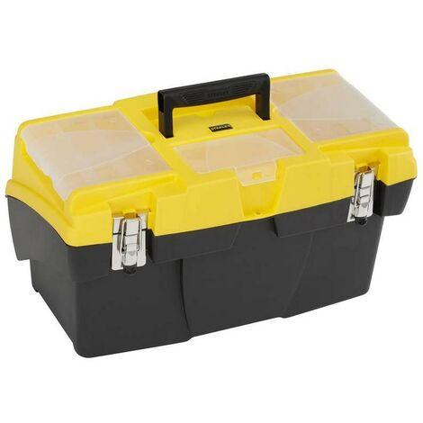 STANLEY 1-92-911 - boîte à outils 1900 fermoirs métals de 48 cm