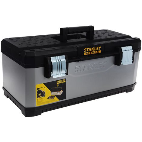 "Stanley 1-95-617 Metal & Plastic Toolbox 67cm/26"" STA195617"