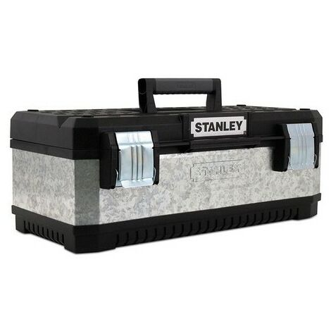 """Stanley 1-95-618 Galvanised Toolbox 20"""" With Tote Tray"""