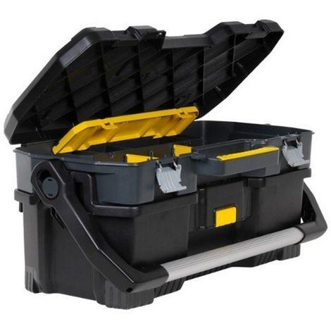 STANLEY 1-97-506 - Caja de herramientas con maleta para herramientas electricas 24 pulgadas 67 cm