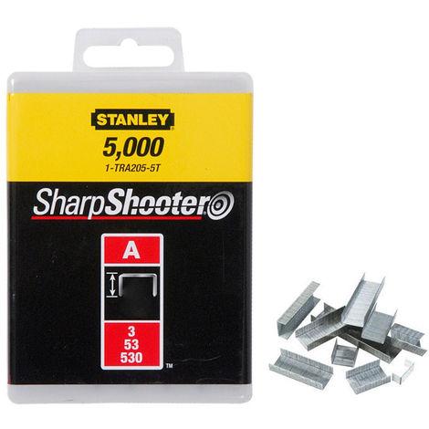 Stanley 1000 graffe 6mm punti tipo A acciaio-antiruggine 1-TRA204T