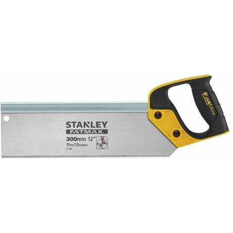 Stanley 2-17-199 FatMax Tenon Back Saw 300mm (12in) 11tpi