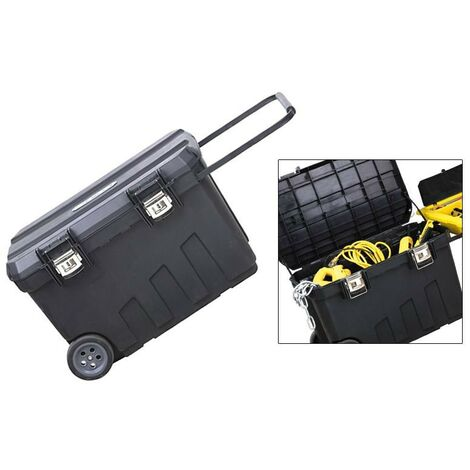Stanley 24 Gallon Job Site Tool Chest Tool Box on Wheels 1-92-978 STA192978