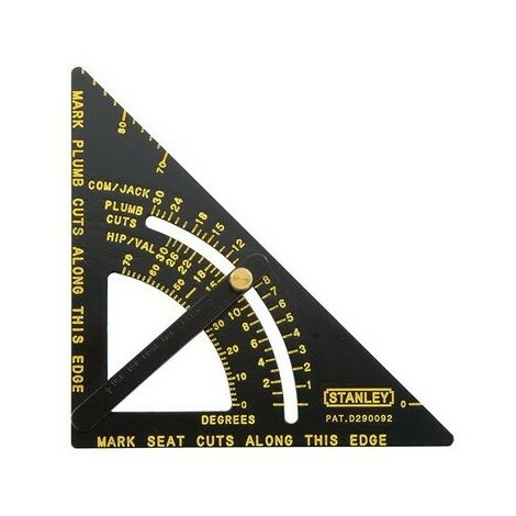 """Stanley 46053 Adjustable Quick Roofing Square 170mm 6.3/4"""""""