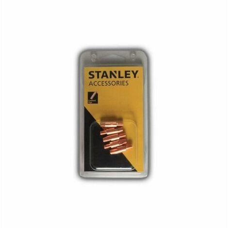 STANLEY 460610 Lot de 10 Tube pour torche MIG - Ø 0,9/1
