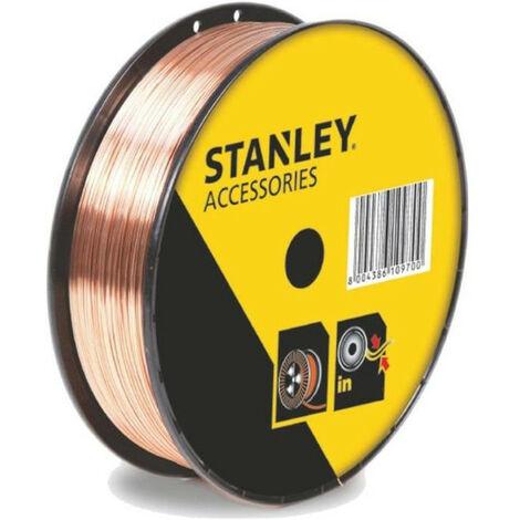 STANLEY 460628 Bobine fil acier pour soudure MIG/MAG sans gaz - O 0,9 mm - 0,9 kg