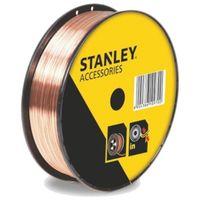 STANLEY 460639 Bobine fil inox pour soudure MIG/MAG avec gaz - OE 0,8 mm - 1 kg