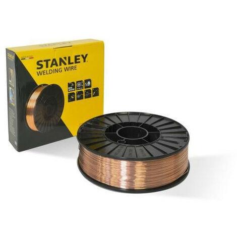 STANLEY 460646 Bobine fil acier pour soudure MIG/MAG sans gaz - O 0,6 mm - 5 kg