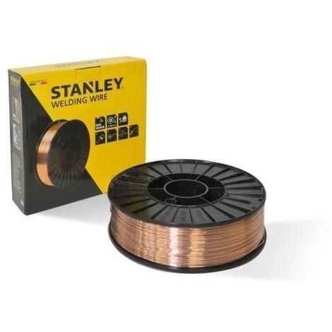 STANLEY 460659 Bobine fil acier fourré pour soudure MIG/MAG sans gaz - Ø 0,9 mm - 5 kg