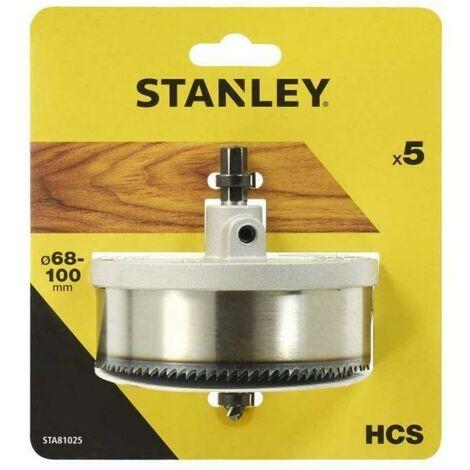 Stanley 5 scies À trous 30mm sta81025-xj